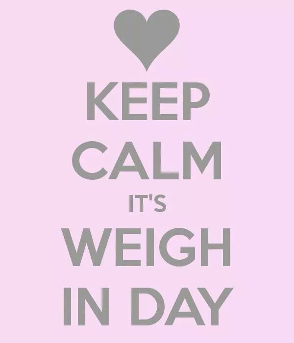 It's Weigh In Day!!! – Monica Akerele's Fitness Blog